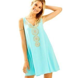 Lilly Pulitzer Fia Dress in Seasalt Blue